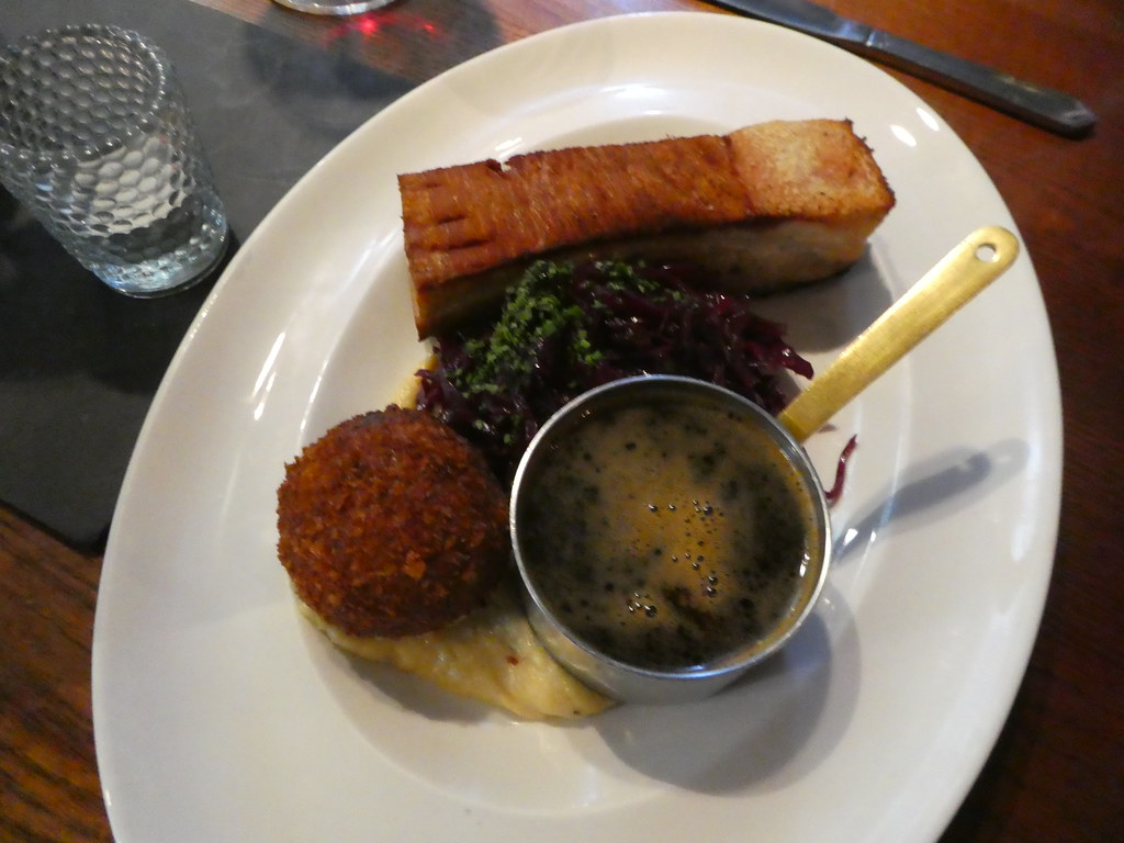 Food at The White Lion Hotel, Hebden Bridge
