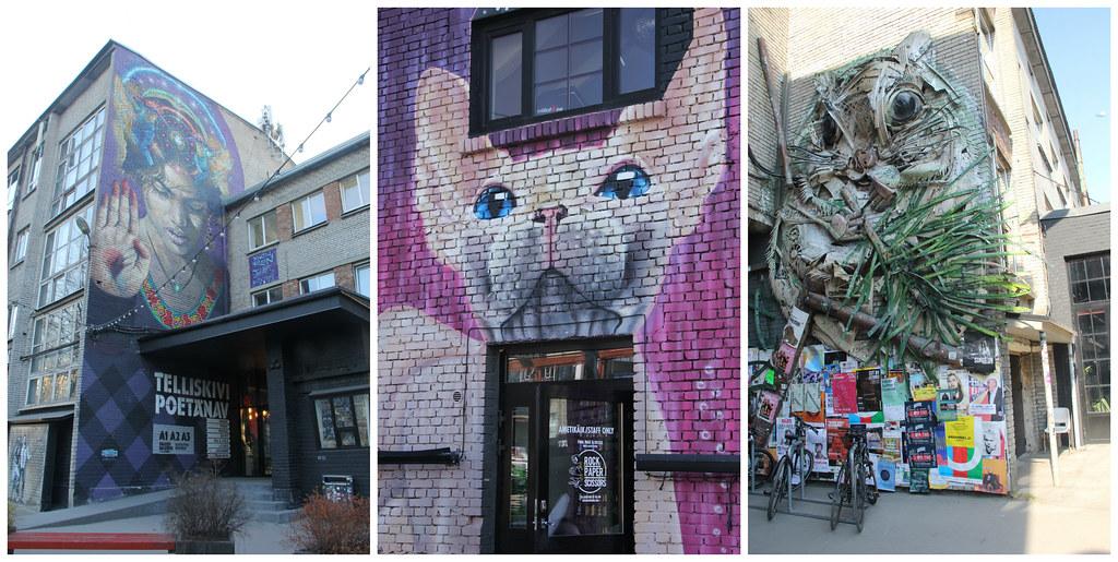 Street art, Telliskivi, Tallinn