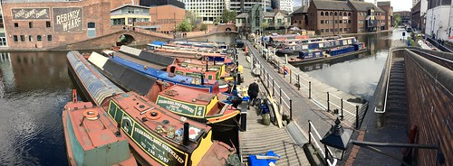 Regency Wharf, Worcester and Birmingham Canal