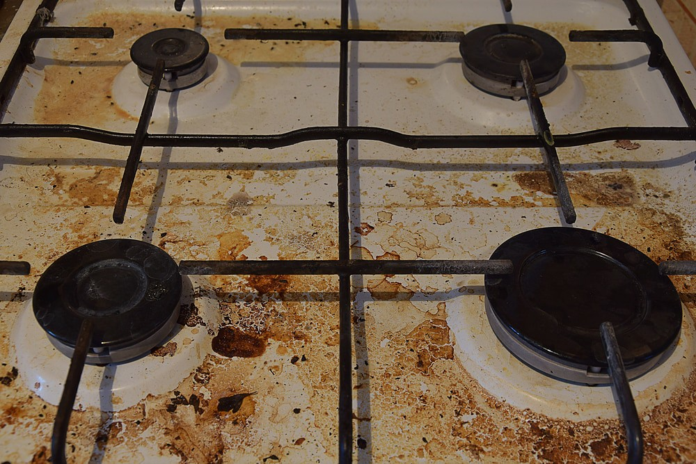 How to get rid of stove grates