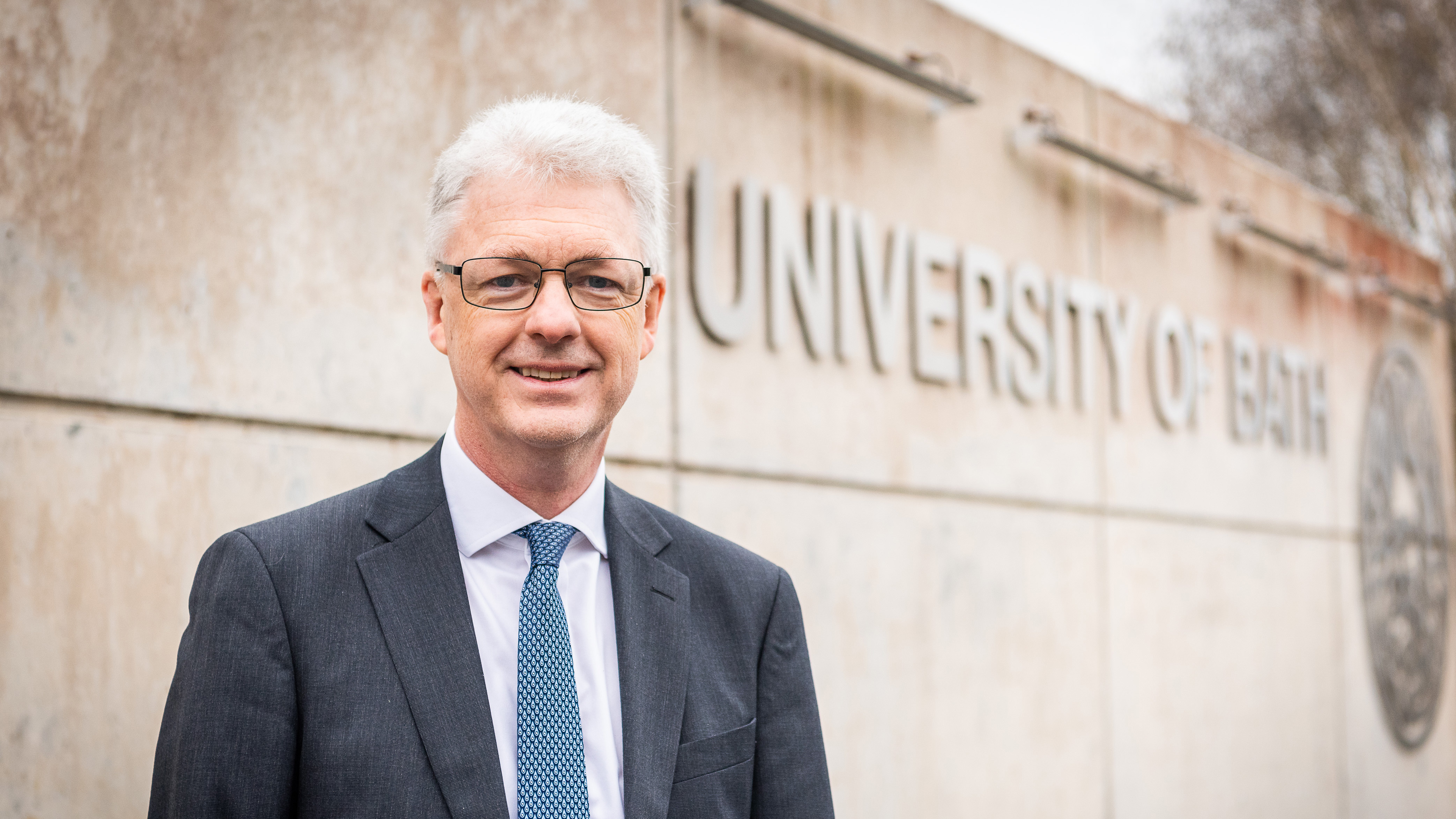 a head and shoulders shot of Ian White, our Vice-Chancellor