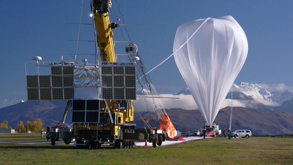 NASA Super Pressure Balloon Begins Globetrotting Journey
