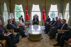 Встреча В. Матвиенко с Президентом Турции Р. Эрдоганом