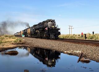 Steaming Towards Rawlins