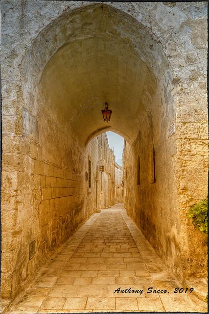 An Alley in Mdina, Malta 2019