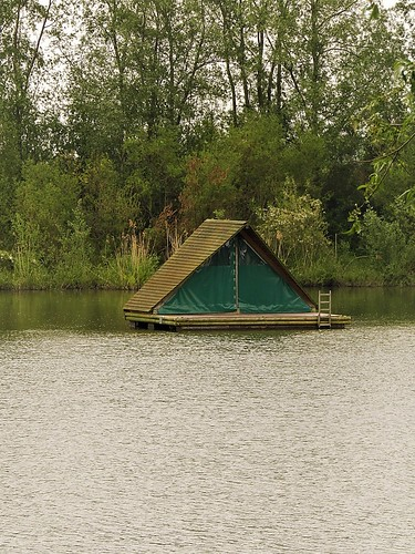 Sleeping on the Water in raft tent
