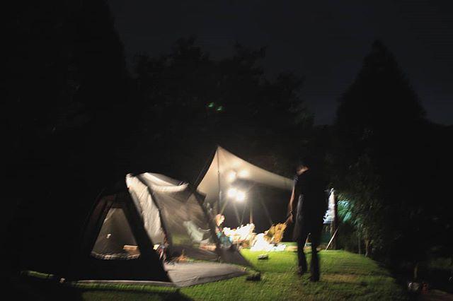20190517 不露 會blue 久違的高山獨露 #歐北露 #campinglife #ilovecamping #TiiTentHexa #TiiTentSunrise #試睡專員 #雖然糊了但好帥