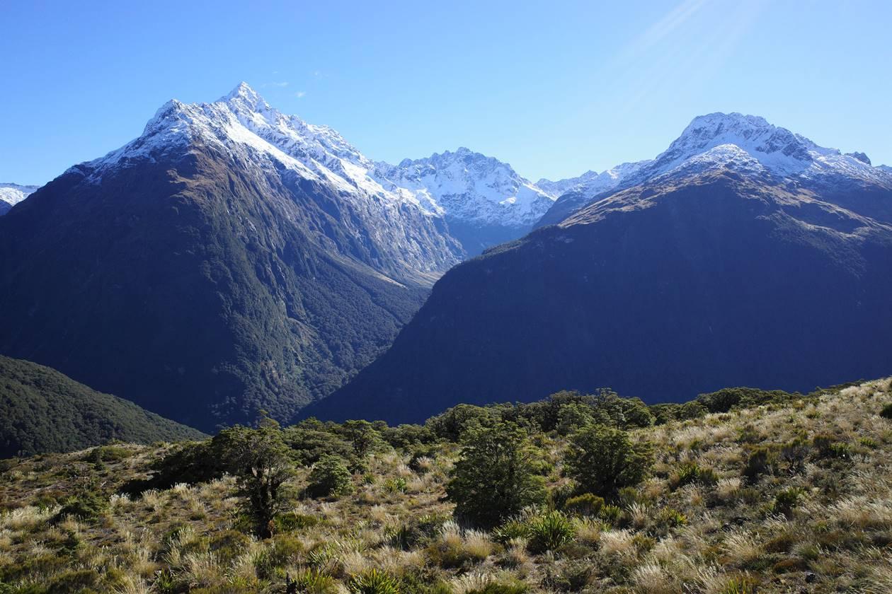 ニュージーランド クリスティーナ山
