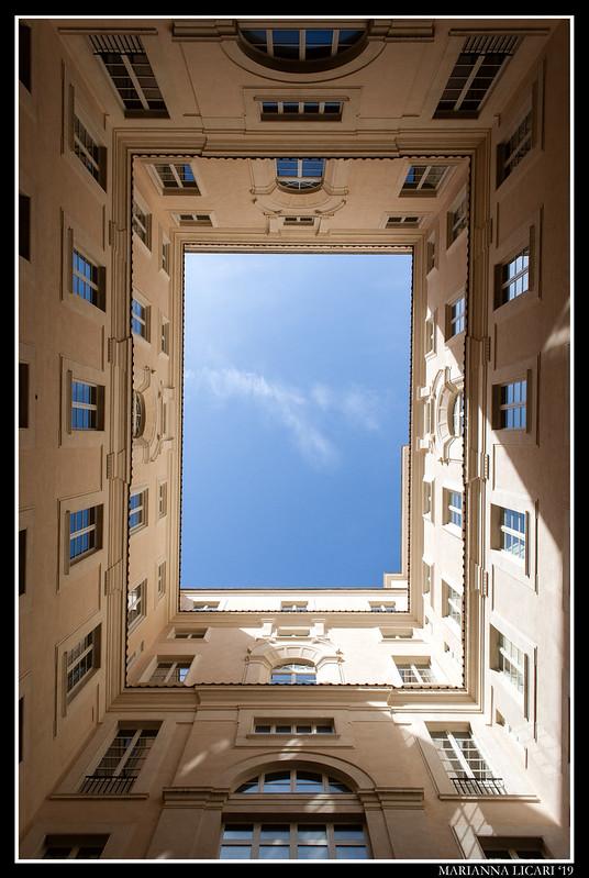 (Rett)angoli di cielo/ (Rect)angles of sky