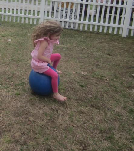 hopping girl