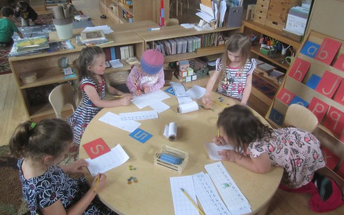 number writing & addition work