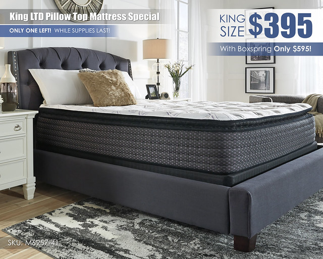 King LTD Mattress Special_Clearance_M627-41
