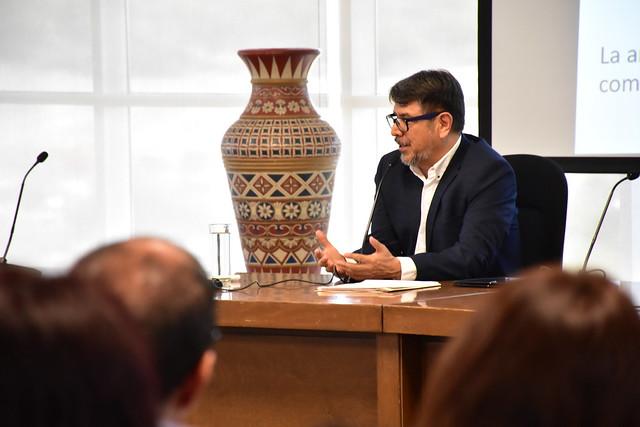 Conferencia del Maestro Ricardo Joel Jiménez González de CIMTRA