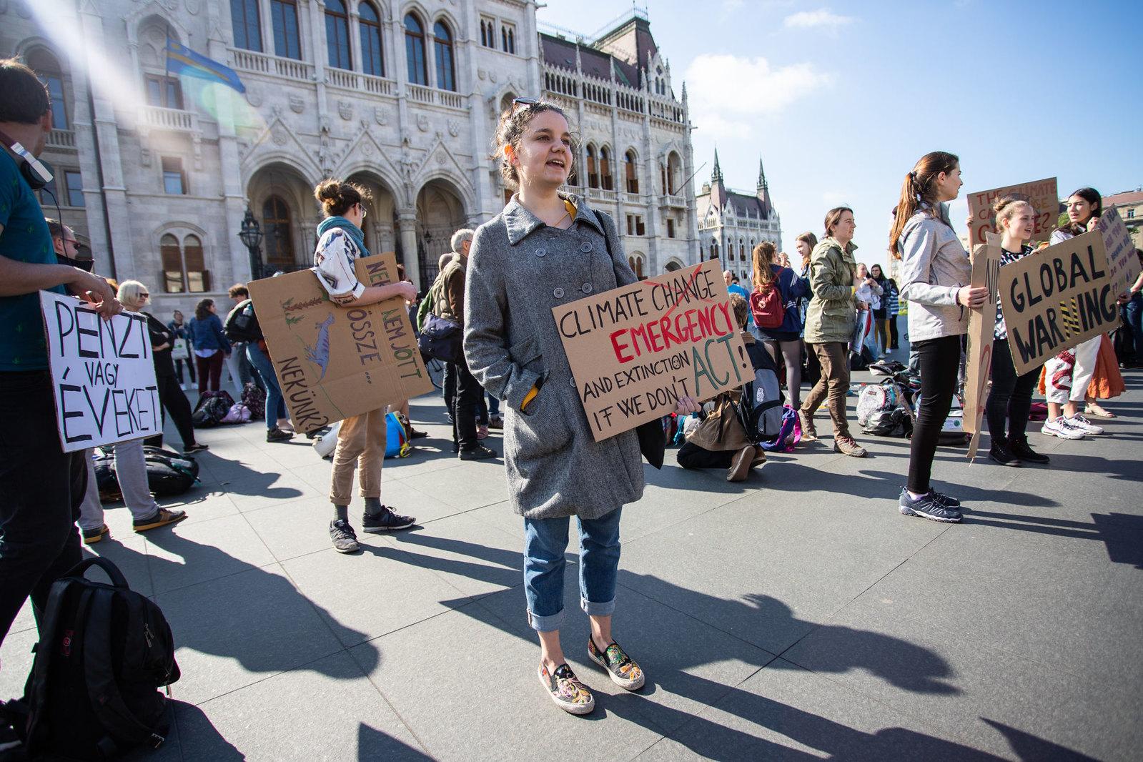 Holnap tüntetnek a klímáért a Kárász utcán