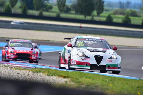Ma Qing Hua, Alfa Romeo Giulietta TCR, FIA WTCR World Touring Car Cup, Slovakia Ring 2019