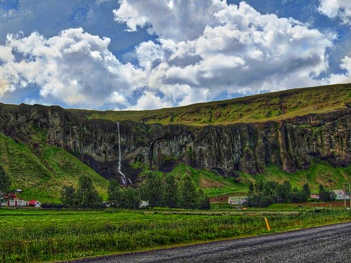 Suðurland, Iceland's southern region - Tall Narrow Waterfalls  - Highway 1 Ring Road | by Onasill ~ Bill - 82.4 M - Be Safe