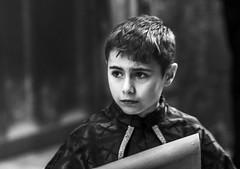 Boy - monochrome