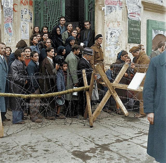 Dmitri Kessel, Athens 1944