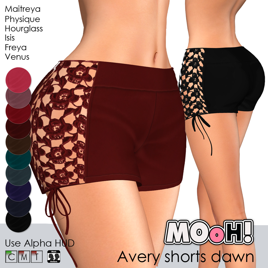 Avery shorts Dawn
