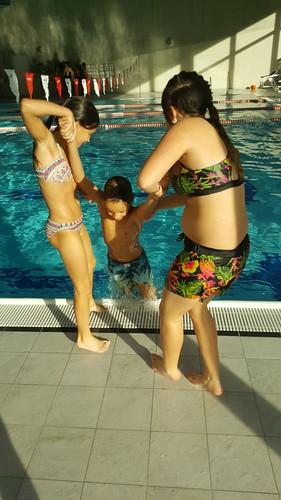 Help im Schwimmbad