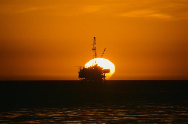Sunset from Isla Vista
