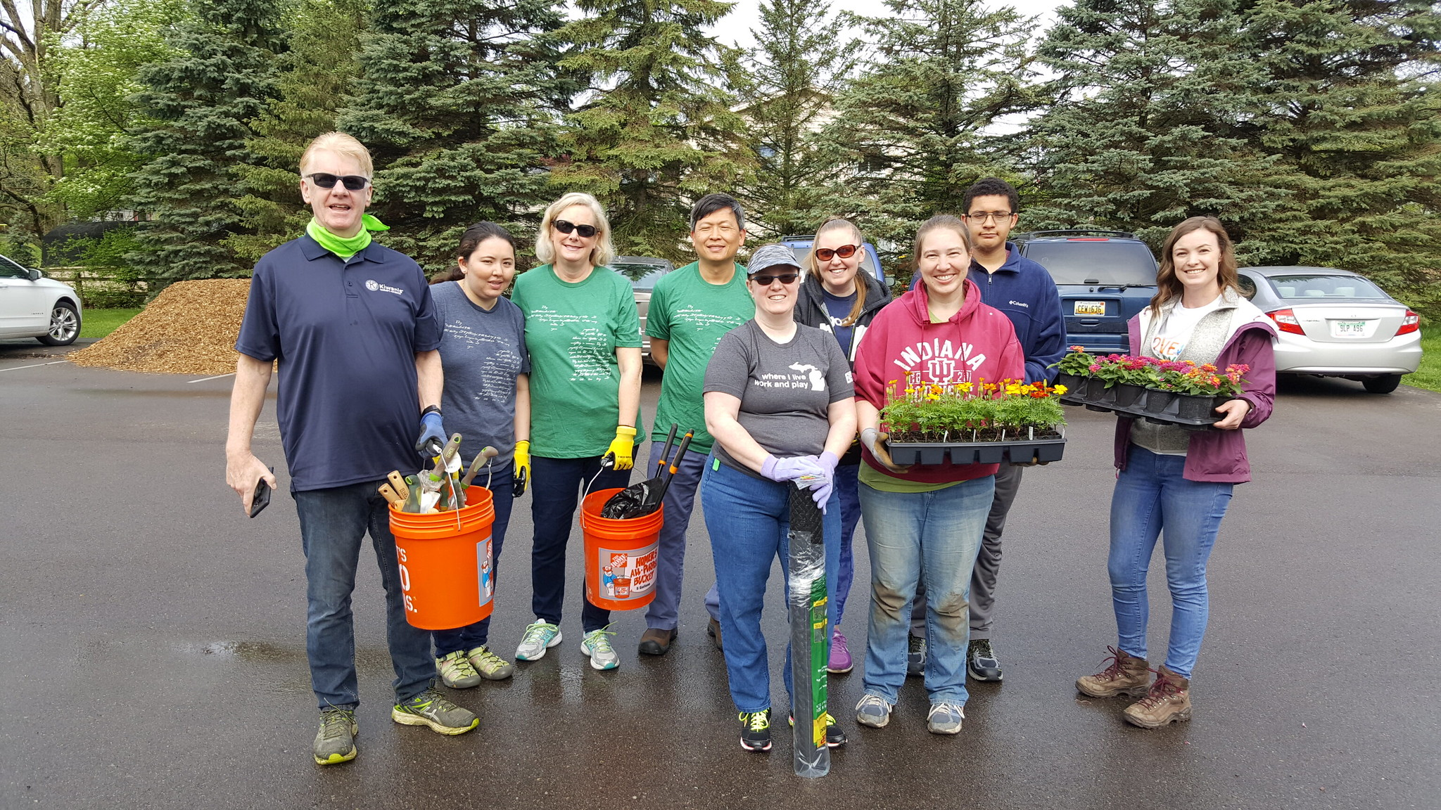 Meridian Township Hosts the 5th Annual Love a Park Day Event