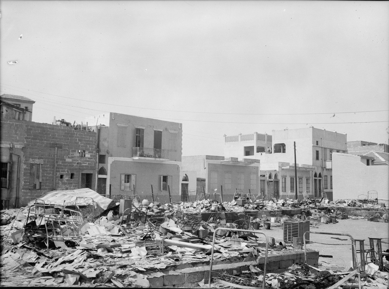 03. Яффо. Разрушенные еврейские жилые дома