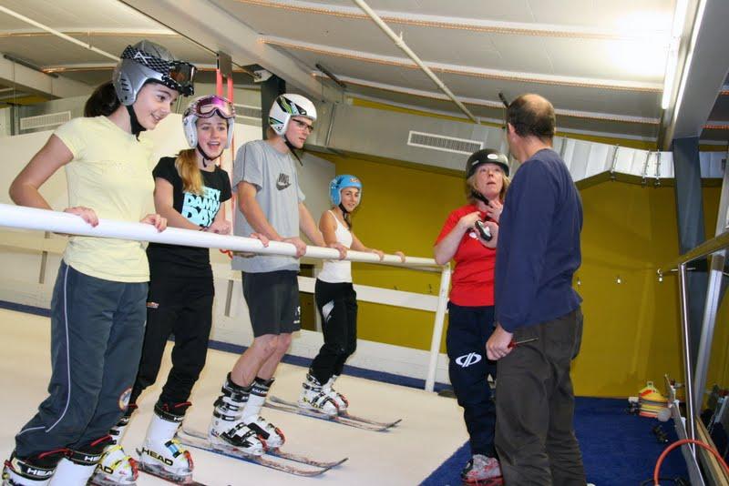 2012-11-10 JO-Training swiss indoor ski