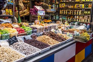 Mercado Central de Atarazanas Market Stall