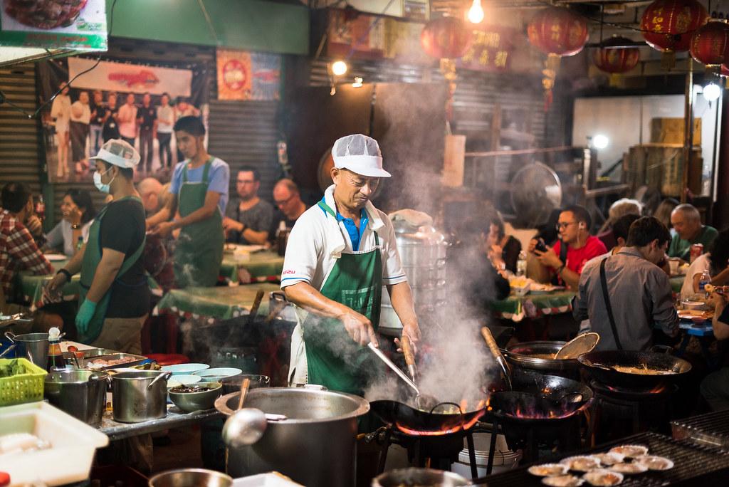 Cuisine de rue à Bangkok