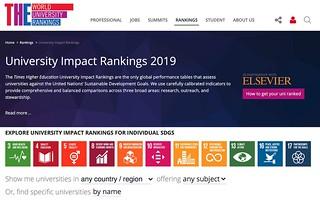 THE University Impact Ranking | by sc63