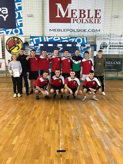 Rejonowy Turniej Piłki Ręcznej Chłopców - Zamość 15.03.19r.