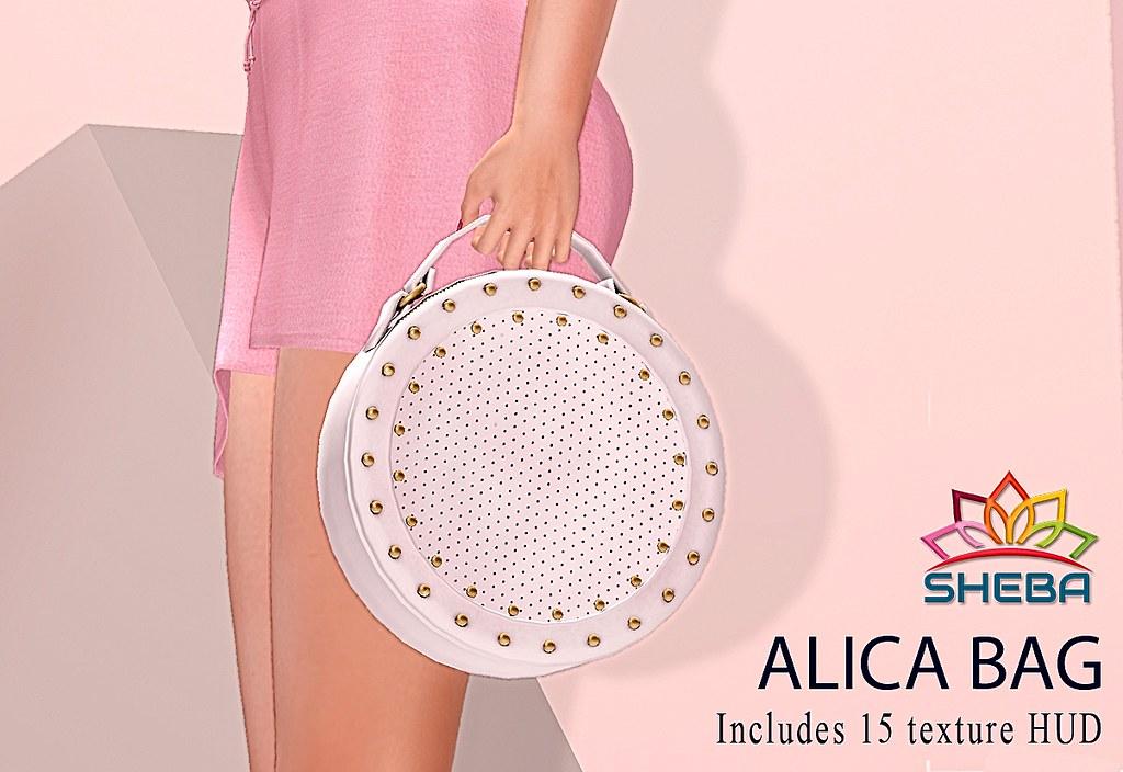 [Sheba] Alica Bag @Sense - TeleportHub.com Live!
