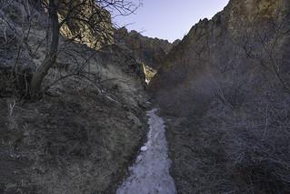 Ice underfoot
