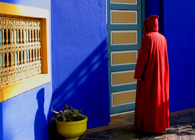 Marrakech giardini Yves Saint Laurent