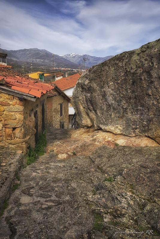Rocas en Cuacos de Yuste (Cáceres)