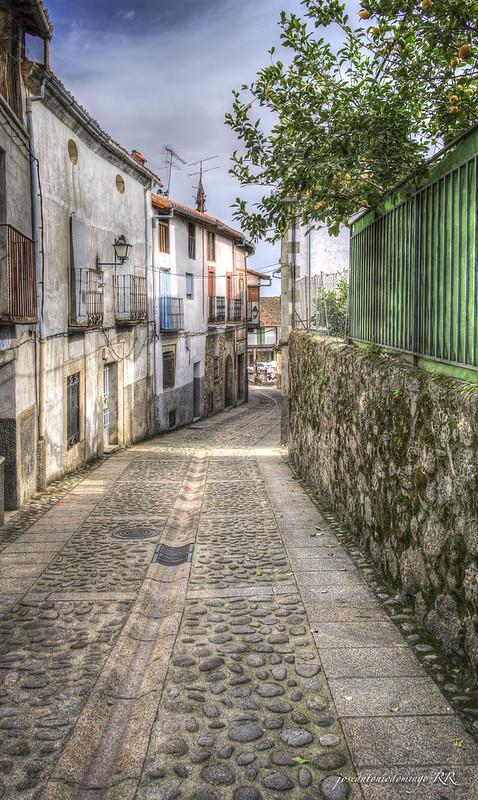 Calle de Cuacos de Yuste