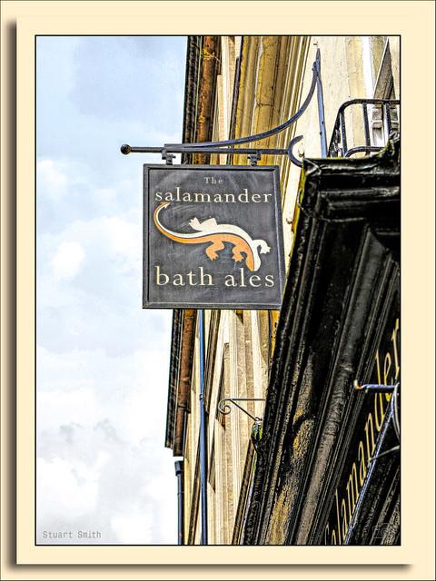 The Salamander, 3 John Street, Bath, Somerset. England UK
