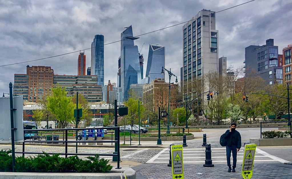 Active Bikeway Ahead - Chelsea Piers, New York City