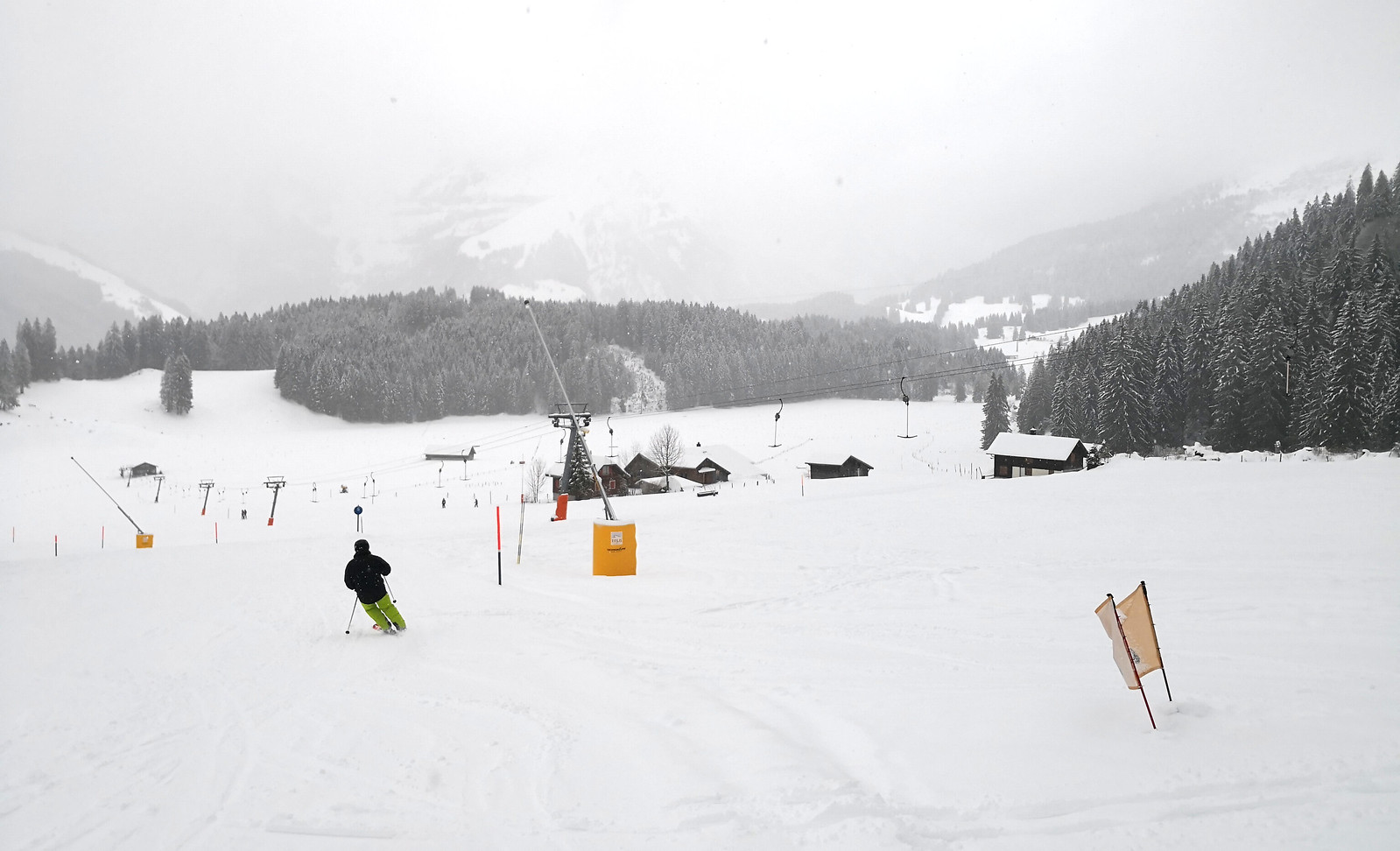 T-bar at Untertrübsee