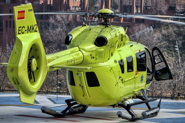Airbus Helicopters H145 EC-MKZ