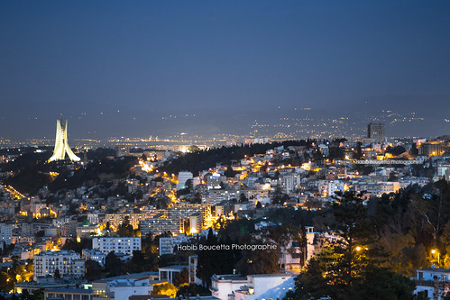 Alger by Night | by Habib Boucetta
