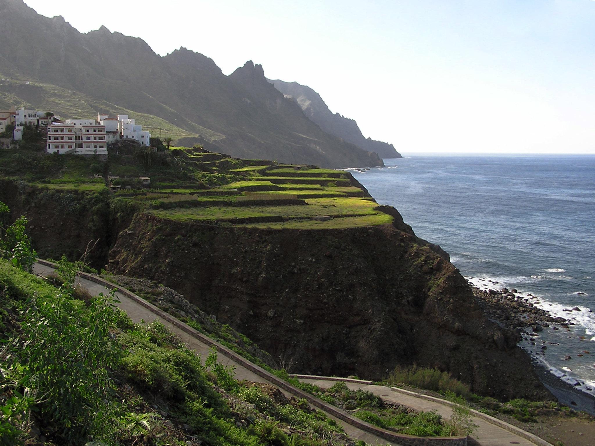 costa de Taganana isla de Tenerife