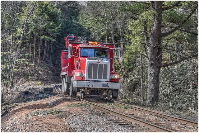RJ Corman Railroad, Peterbilt Service Truck (HTT)