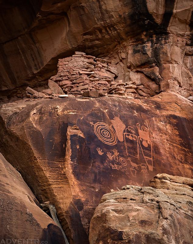 Ruin & Petroglyphs