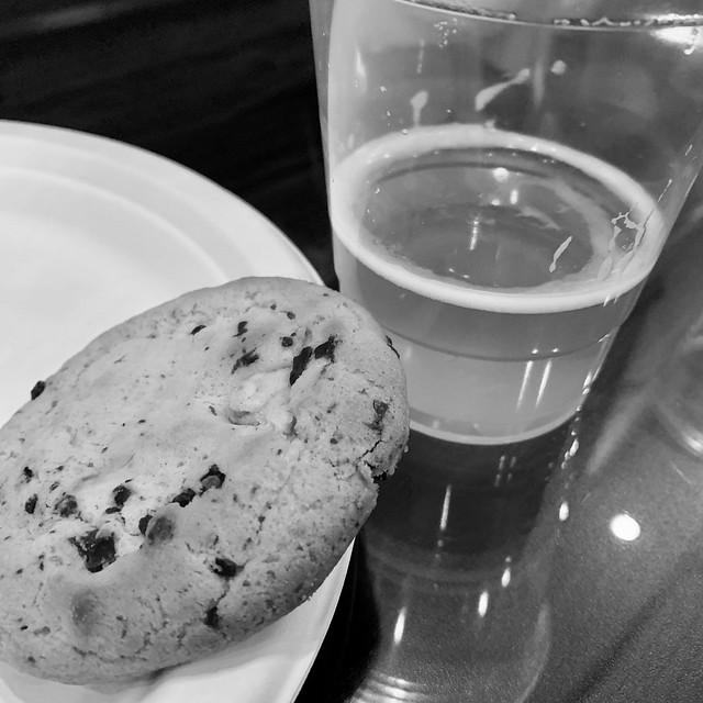 Cookie & a beer