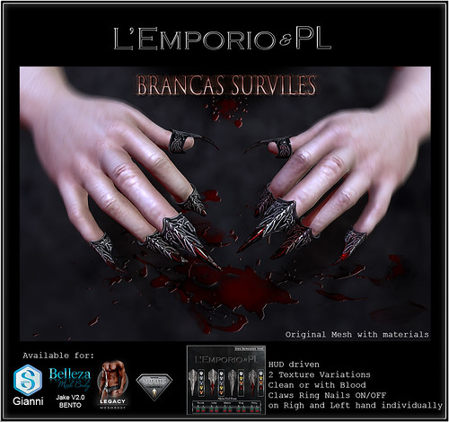 L'Emporio&PL::*Brancas Surviles*:: Claws-Update-