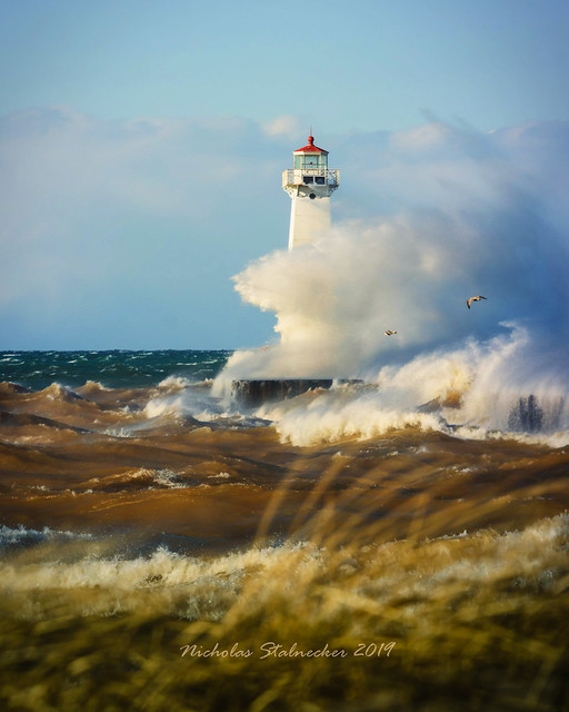 High Winds at Sodus Point