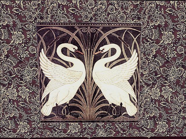 Sanity Island - Courtship Dance of Vintage Swans