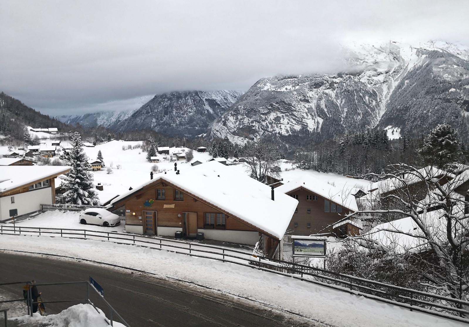 Village of Hasliberg-Reuti